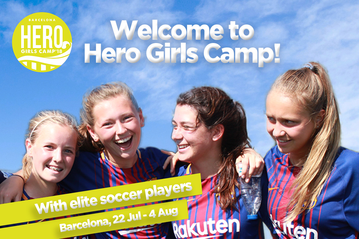 Welcome to Hero Girls Camp 2018