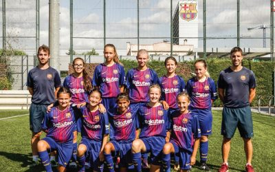 The debut of FC Barcelona Girls Camp